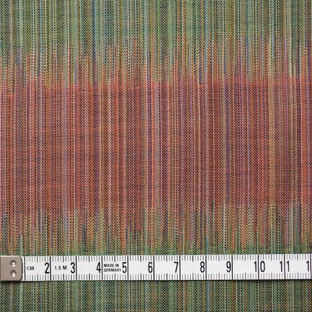 コットン×幾何学模様(オレンジ&グリーン)×二重織ジャガード イメージ4