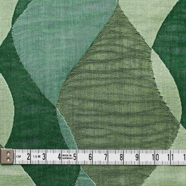 コットン×幾何学模様(グリーンミックス)×二重織ジャガード イメージ4