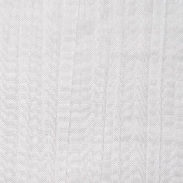 ポリエステル&コットン×無地(オフホワイト)×ガーゼワッシャー イメージ1