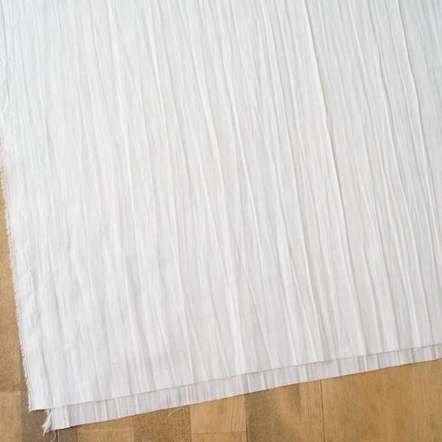 ポリエステル&コットン×無地(オフホワイト)×ガーゼワッシャー イメージ2