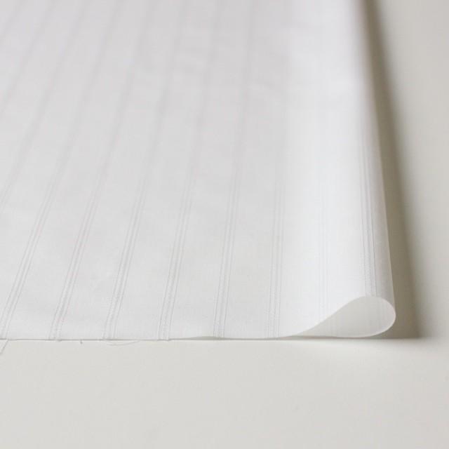 ポリエステル&コットン×ストライプ(オフホワイト)×ブロードジャガード イメージ3