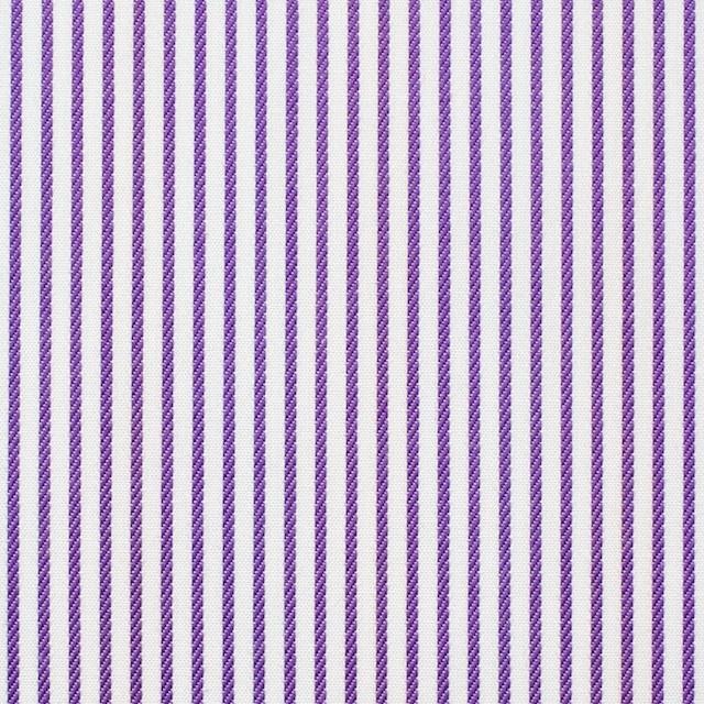 コットン×ストライプ(パープル&レインボーミックス)×ブロードジャガード_全2色 イメージ1