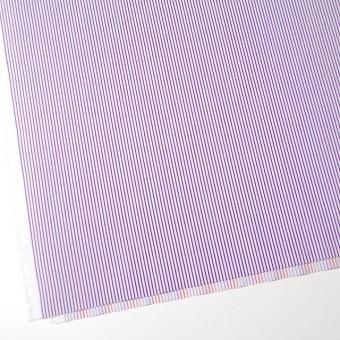コットン×ストライプ(パープル&レインボーミックス)×ブロードジャガード_全2色 サムネイル2