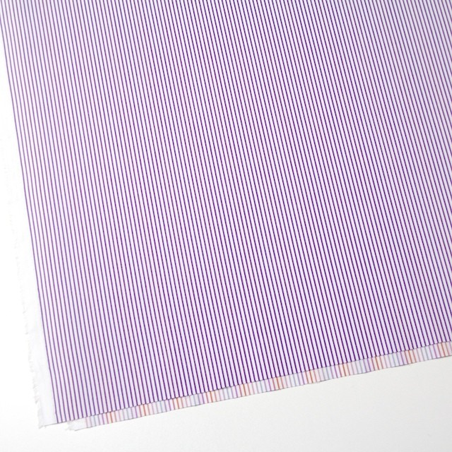 コットン×ストライプ(パープル&レインボーミックス)×ブロードジャガード_全2色 イメージ2