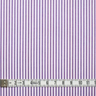 コットン×ストライプ(パープル&レインボーミックス)×ブロードジャガード_全2色 サムネイル4