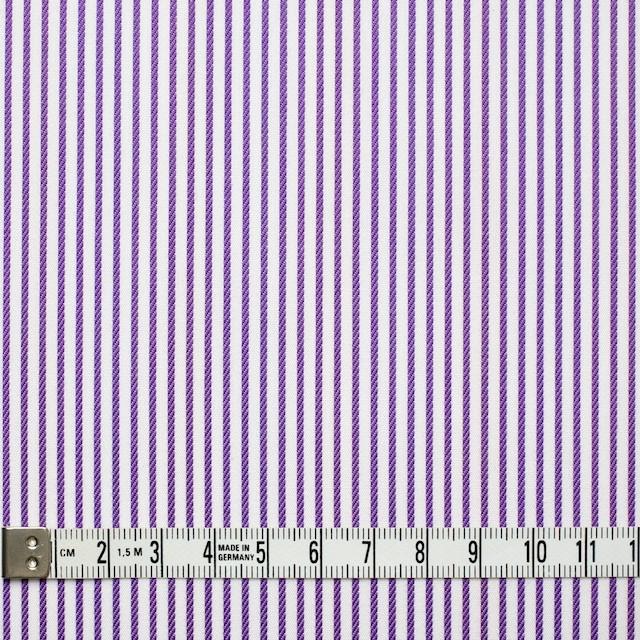 コットン×ストライプ(パープル&レインボーミックス)×ブロードジャガード_全2色 イメージ4
