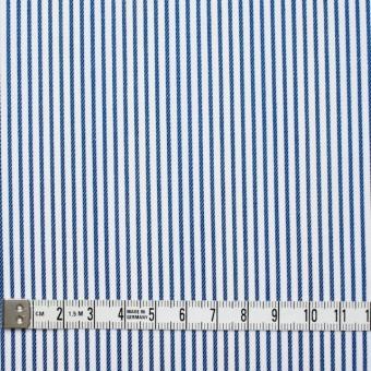 コットン×ストライプ(アイアンブルー&レインボーミックス)×ブロードジャガード_全2色 サムネイル4