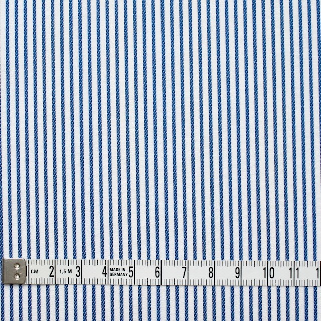 コットン×ストライプ(アイアンブルー&レインボーミックス)×ブロードジャガード_全2色 イメージ4