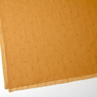 コットン×ドット(ターメリック)×ガーゼ刺繍_全2色 サムネイル2