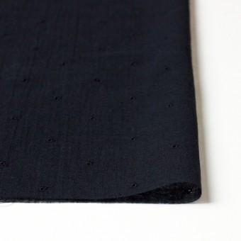 コットン×ドット(ブラック)×ガーゼ刺繍_全2色 サムネイル3