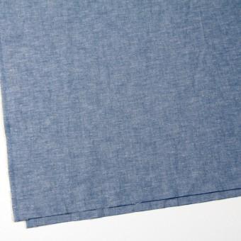 コットン&リネン×無地(ブルー)×ダンガリー サムネイル2