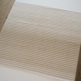 ポリエステル&ナイロン×ボーダー(ベージュグラデーション)×二重織 サムネイル5