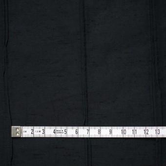 レーヨン&ナイロン混×幾何学模様(ブラック)×タテタック サムネイル5