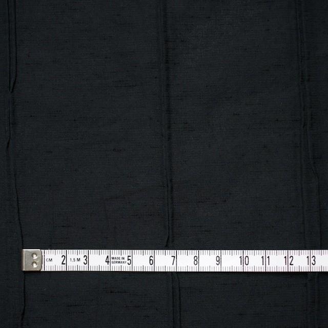 レーヨン&ナイロン混×幾何学模様(ブラック)×タテタック イメージ5