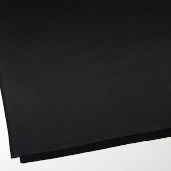 シルク×無地(ブラック)×サテン サムネイル2