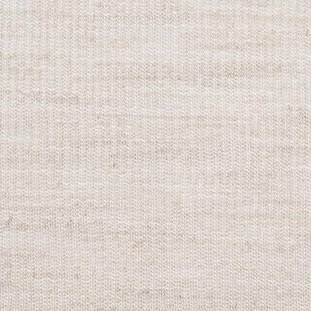 ポリエステル&リネン×無地(キナリ)×ストライプニット_全4色 イメージ1