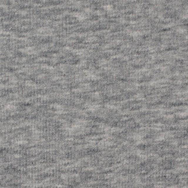 コットン×無地(グレー)×フライスニット_全3色 イメージ1