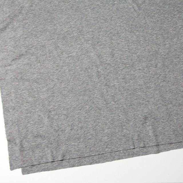 コットン×無地(グレー)×フライスニット_全3色 イメージ2