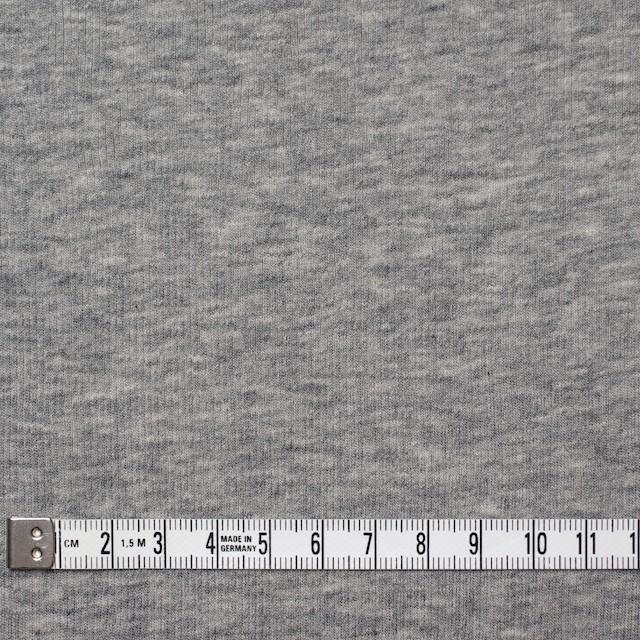 コットン×無地(グレー)×フライスニット_全3色 イメージ4