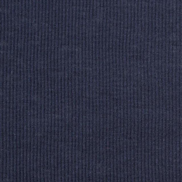 コットン×無地(ダークネイビー)×フライスニット_全3色 イメージ1