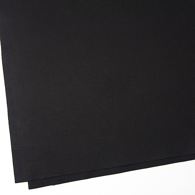 コットン×無地(ブラック)×11号帆布_全6色 イメージ2