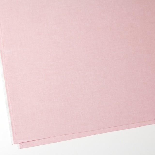 コットン×無地(ローズピンク)×オックスフォード・シャンブレー イメージ2