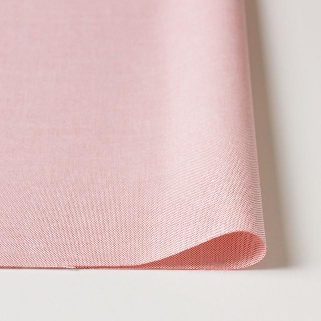 コットン×無地(ローズピンク)×オックスフォード・シャンブレー イメージ3