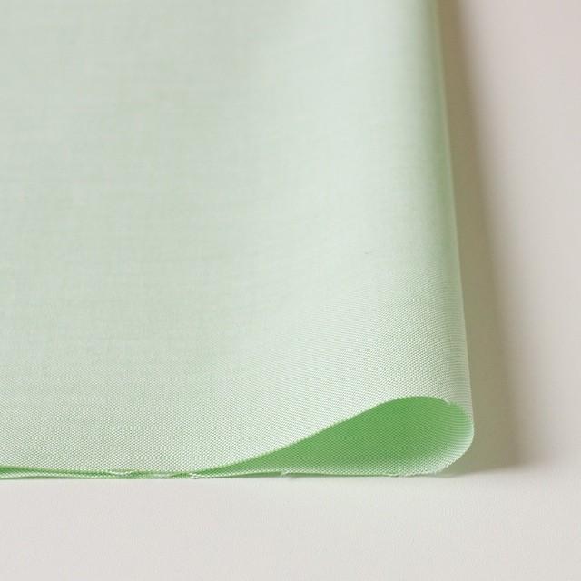 コットン×無地(イエローグリーン)×オックスフォード・シャンブレー イメージ3