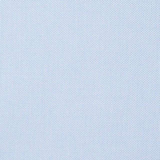 コットン×無地(サックス)×オックスフォード・シャンブレー イメージ1