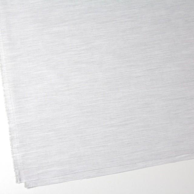 コットン×無地(ライトグレーミックス)×オックスフォード・シャンブレー イメージ2