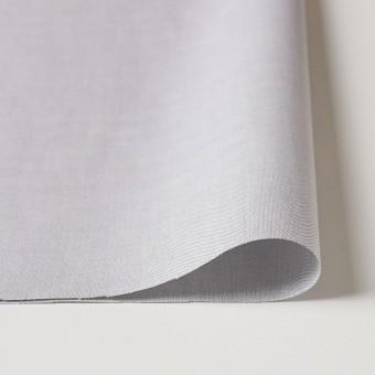 コットン×無地(ライトグレー)×オックスフォード・シャンブレー サムネイル3