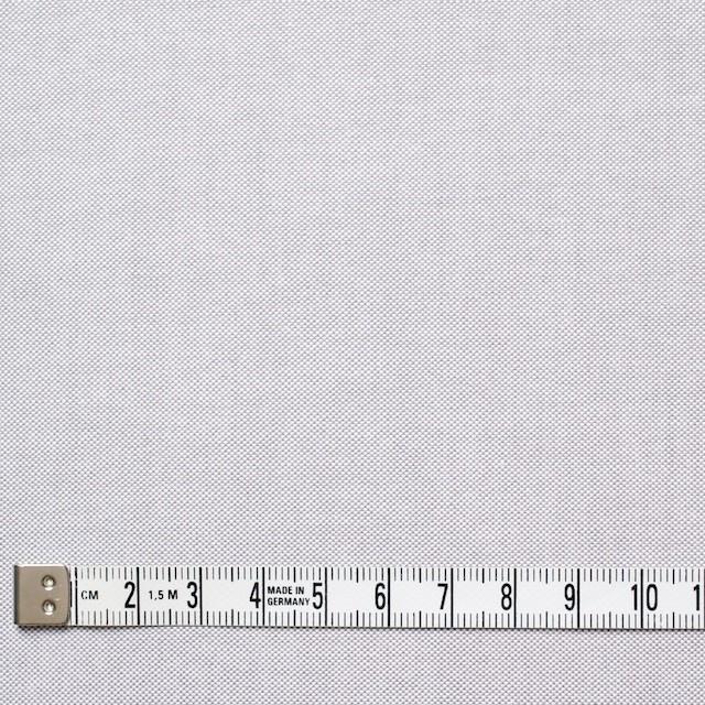 コットン×無地(ライトグレー)×オックスフォード・シャンブレー イメージ4