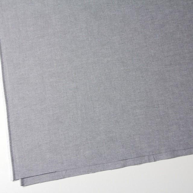 コットン×無地(ブラック)×オックスフォード・シャンブレー イメージ2