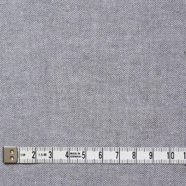 コットン×無地(ブラック)×オックスフォード・シャンブレー イメージ4