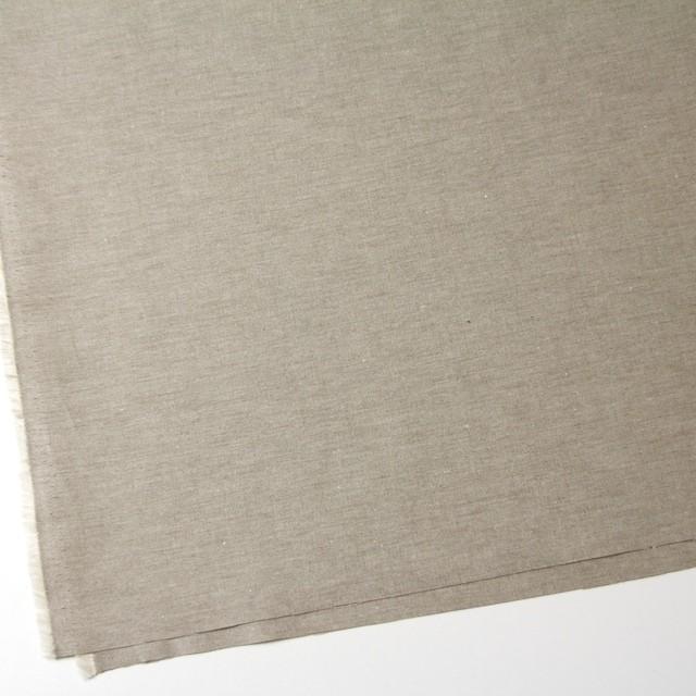 コットン&リネン×無地(モカブラウン)×オックスフォード・シャンブレー イメージ2