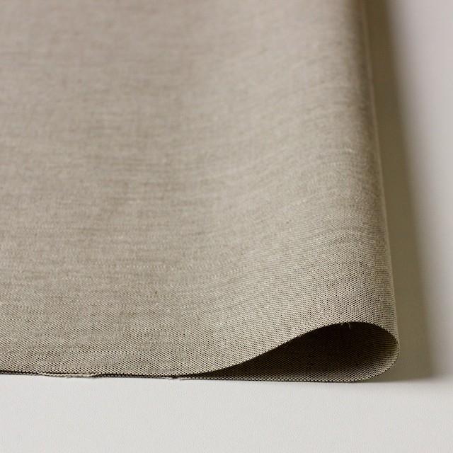 コットン&リネン×無地(モカブラウン)×オックスフォード・シャンブレー イメージ3