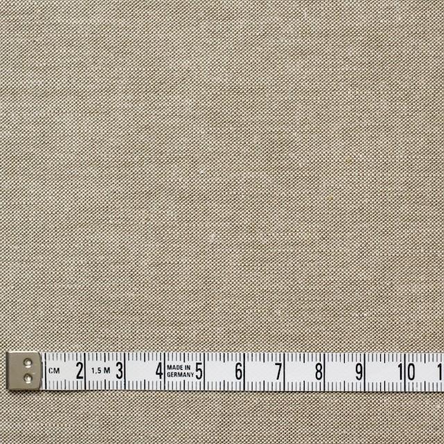 コットン&リネン×無地(モカブラウン)×オックスフォード・シャンブレー イメージ4