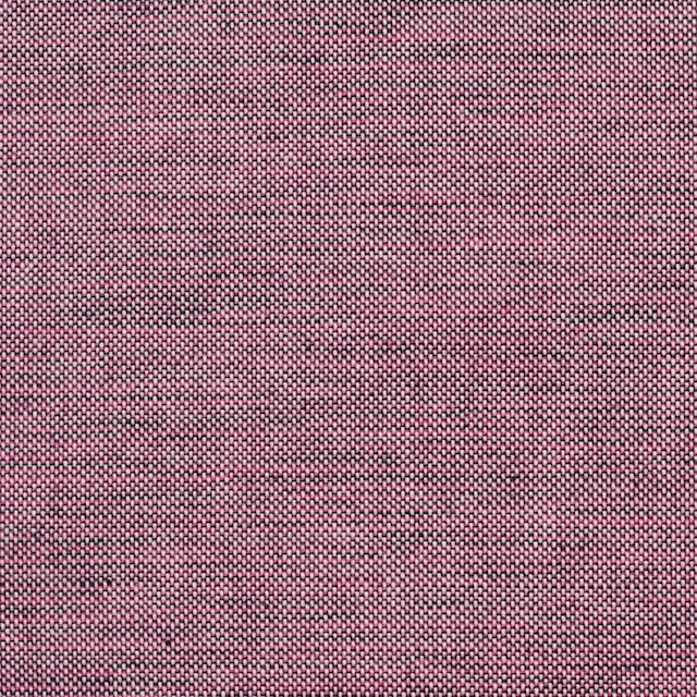 コットン×無地(チェリーピンク&ブラック)×オックスフォード・シャンブレー イメージ1