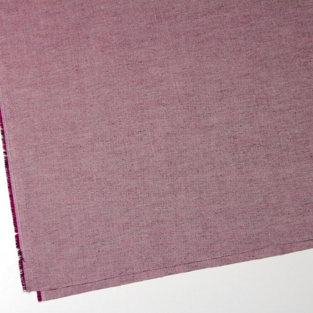 コットン×無地(チェリーピンク&ブラック)×オックスフォード・シャンブレー イメージ2