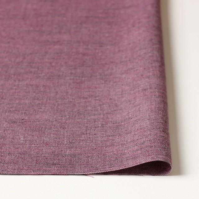 コットン×無地(チェリーピンク&ブラック)×オックスフォード・シャンブレー イメージ3