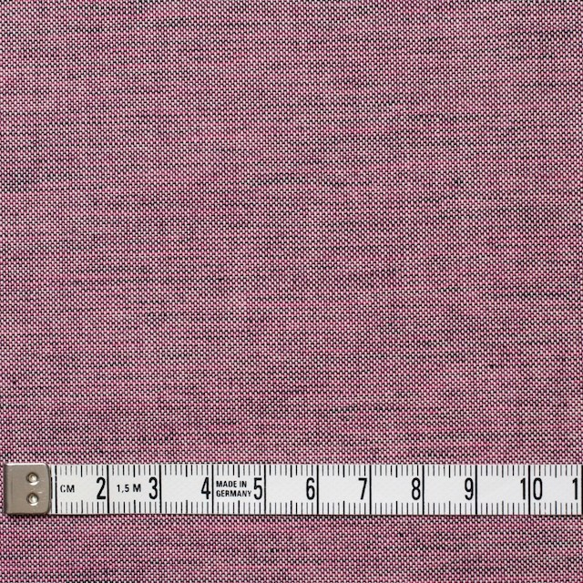 コットン×無地(チェリーピンク&ブラック)×オックスフォード・シャンブレー イメージ4