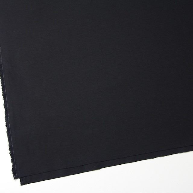 コットン×無地(ブラック)×オックスフォード イメージ2