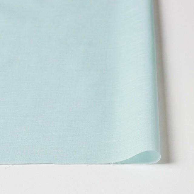 コットン×無地(アイスグリーン)×ボイル_全4色 イメージ3