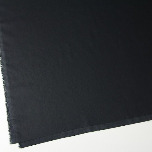 コットン×無地(ブラック)×ボイル_全4色 イメージ2