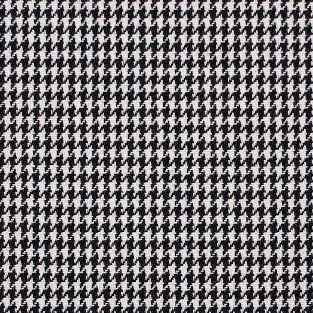 コットン×チェック(ブラック)×千鳥格子 イメージ1
