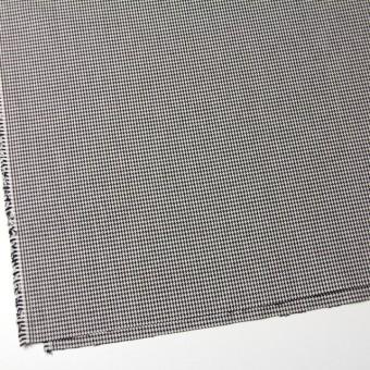 コットン×チェック(ブラック)×千鳥格子 サムネイル2
