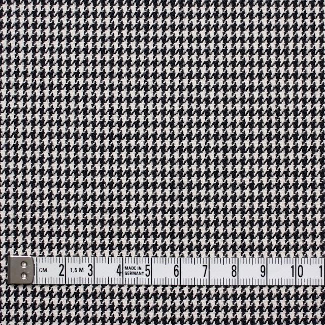 コットン×チェック(ブラック)×千鳥格子 イメージ4