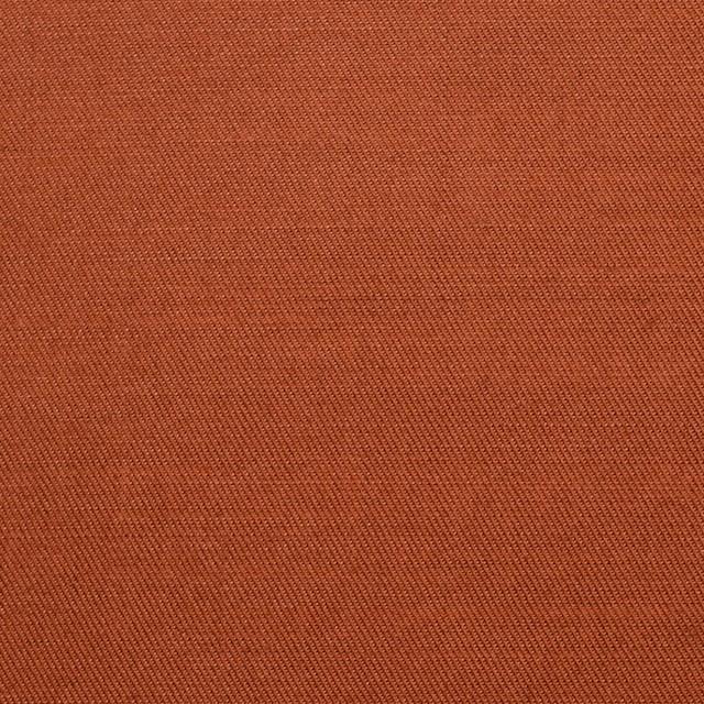 コットン&リネン×無地(レンガ)×薄サージ イメージ1