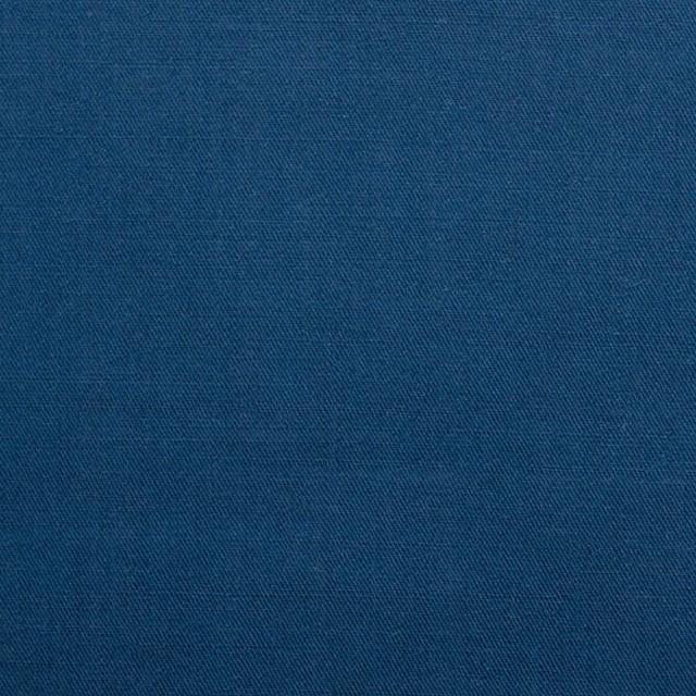 コットン&リネン×無地(ブルー)×薄サージ イメージ1