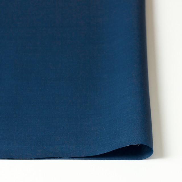 コットン&リネン×無地(ブルー)×薄サージ イメージ3